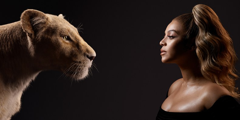Nala and Beyoncé Knowles-Carter (Kwaku Alston. © 2019 Disney Enterprises, Inc. All Rights Reserved.)