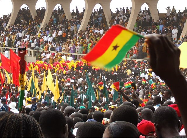 Is Ghana becoming a divided country?