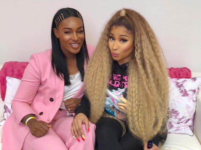 Nicki Minaj hints on signing Ghanaian act