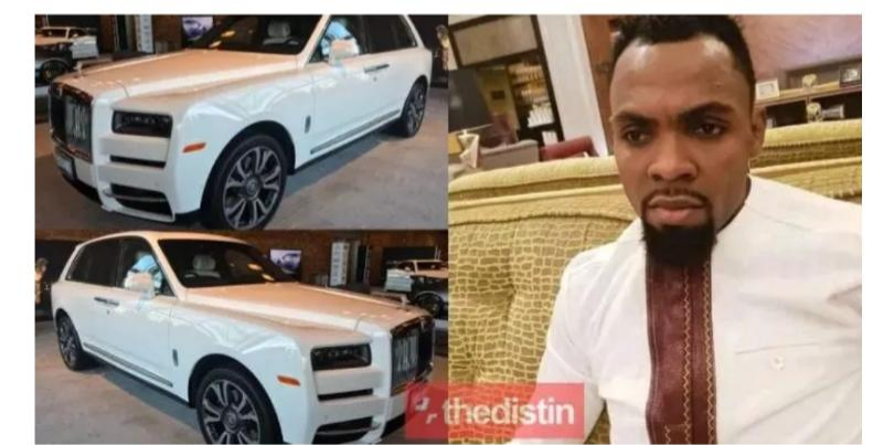 Photo: Rev Obofour gifts himself  a 2019 Cullinan Rolls Royce