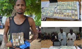 Police recover fake foreign and localcurrencies in an uncompleted building in kano state