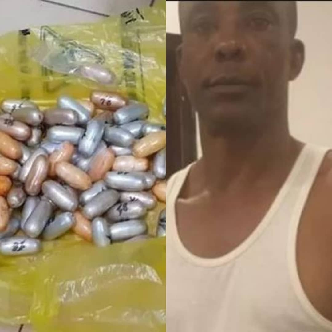 """UK Jails Nigerian Who Swallowed 67 Wraps Of Drug From """"Brazil to London""""."""