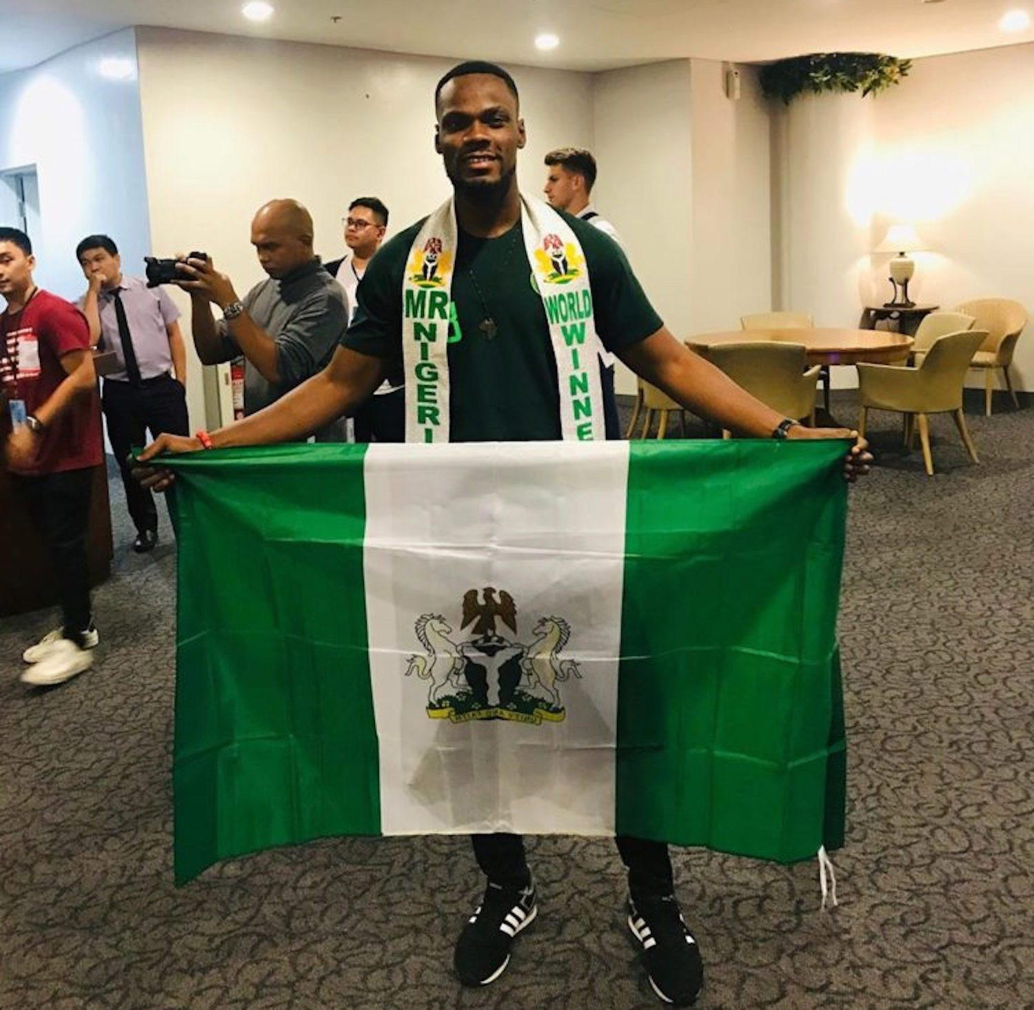 Mr Nigeria begs for more votes to win Mr World – Vanguard News