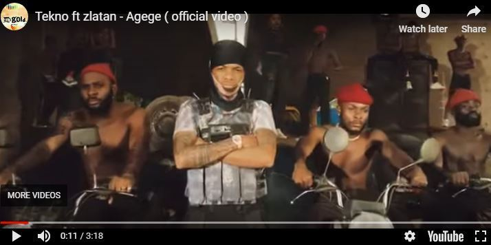 "Tekno releases video, ""Agege,"" 'lorry of 'half-naked' girls"