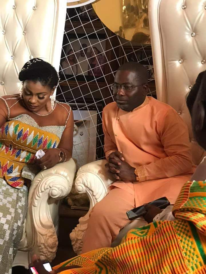 Photos: Congratulations to deputy information minister Dokua for getting married to Charles Bissue of the galamsey taskforce