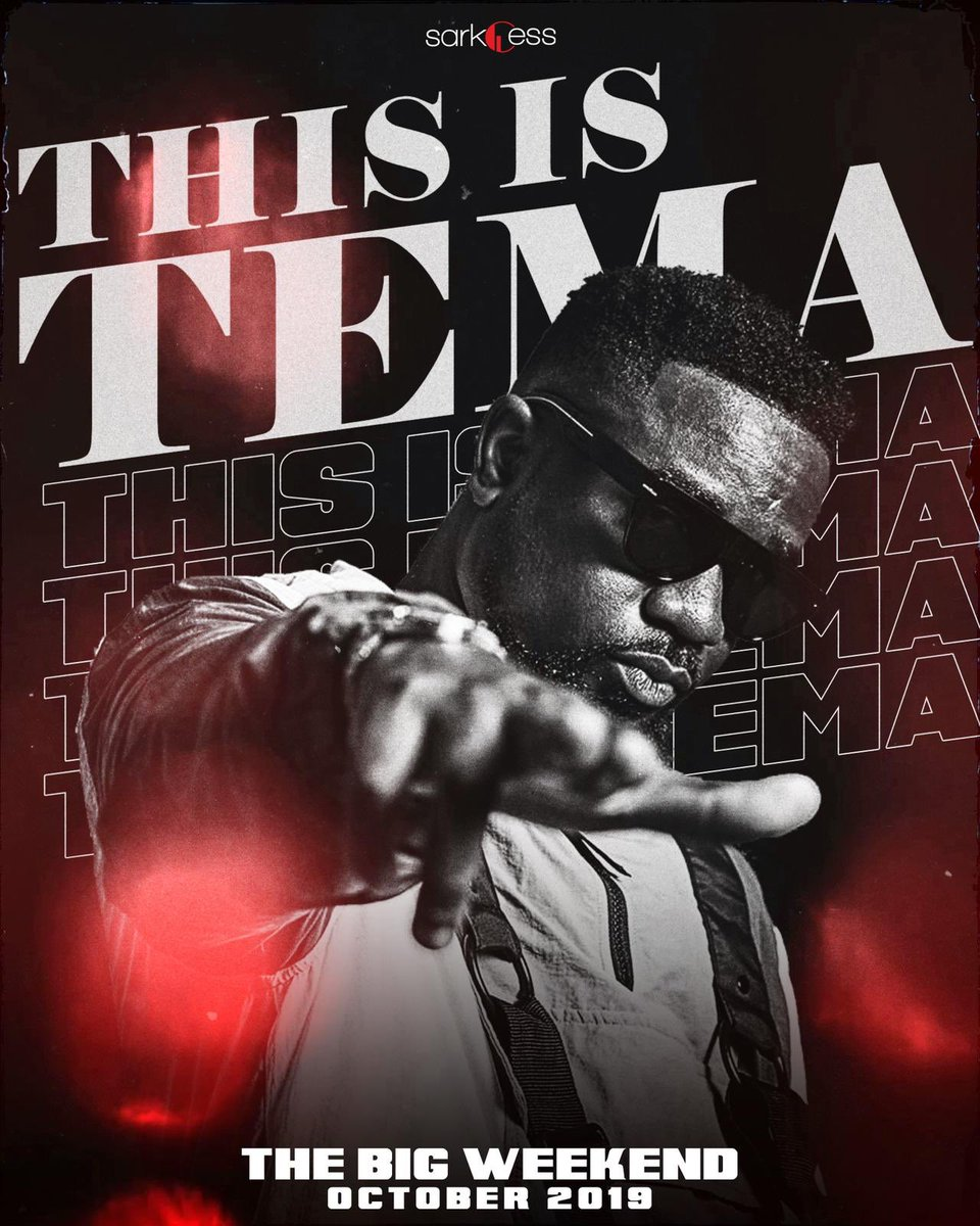 Sarkodie unveils 'This Is Tema' Concert And Slated for October