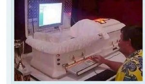 PHOTO: Why Robert Mugabe buried in a computerized casket