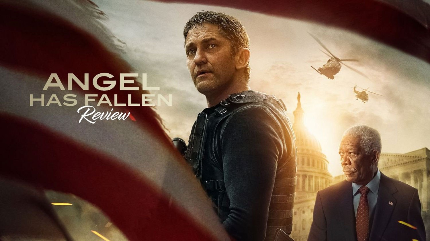'Angel Has Fallen' stays aloft to top North American box…