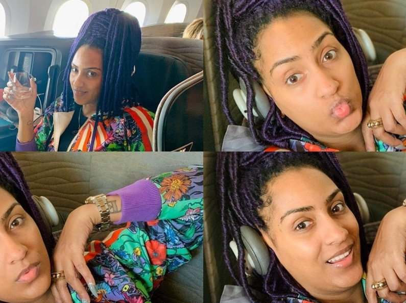 PHOTO: Juliet Ibrahim looks old without makeup