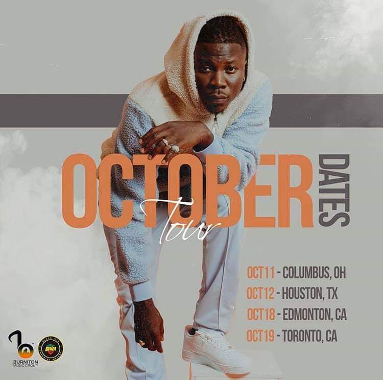 Stonebwoy to sell Ghana Music to the Americans this October