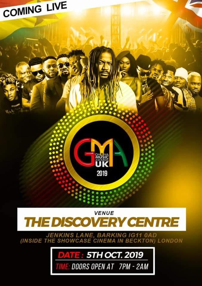 Ghana Music Awards UK'19: Complete list of Winners