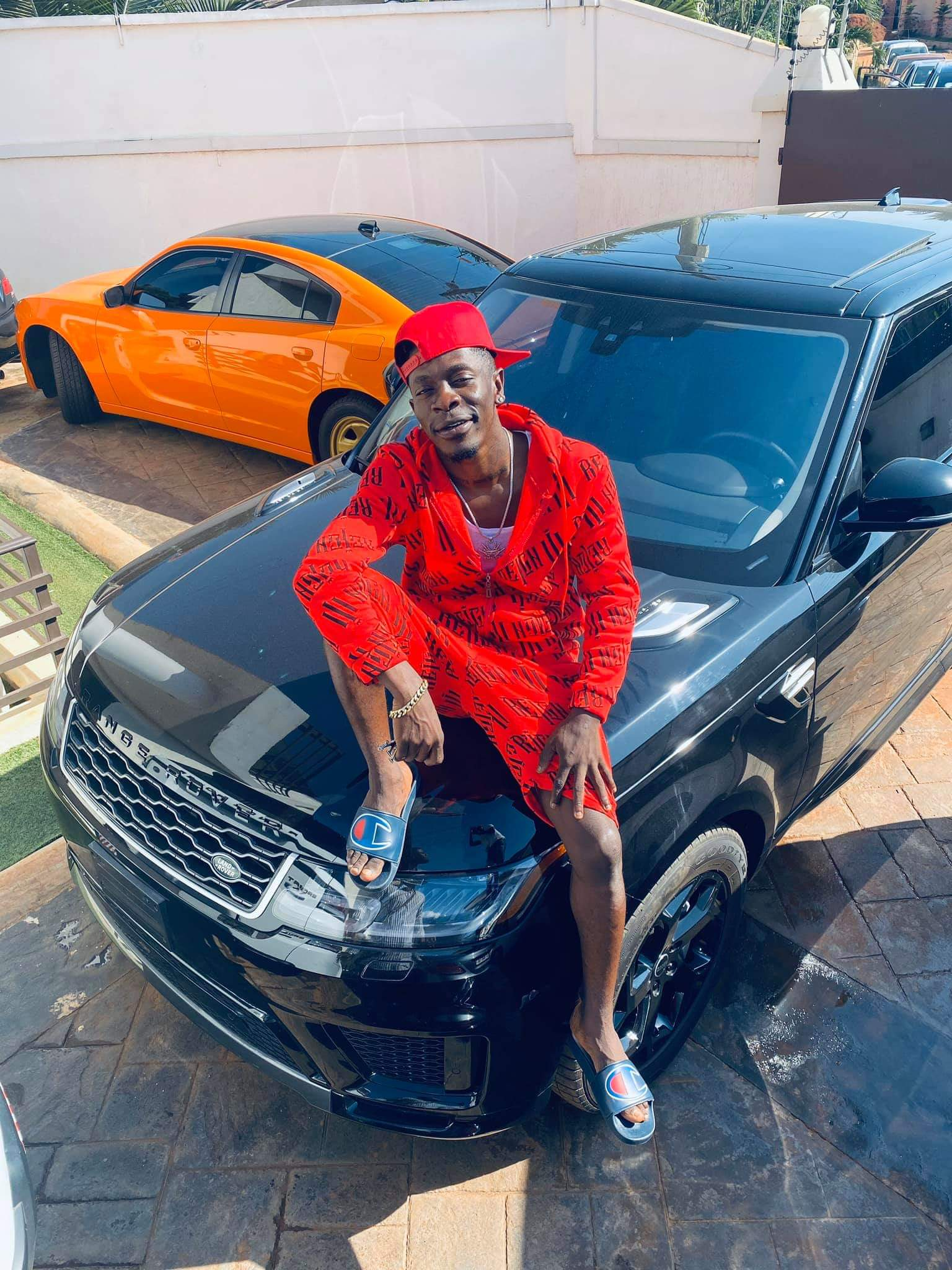 Shatta Wale added to his fleet of cars a Land Cruiser on his 35th birthday
