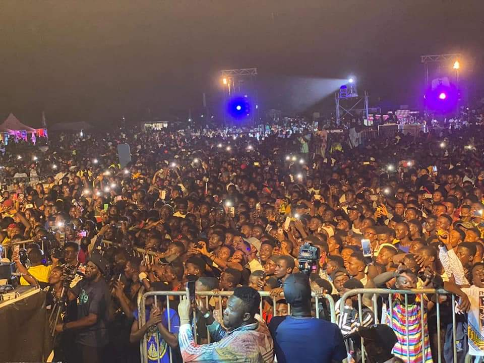 [VIDEO] Sarkodie's 'This Is Tema' recorded huge number of concert attendance in the history of Ghana