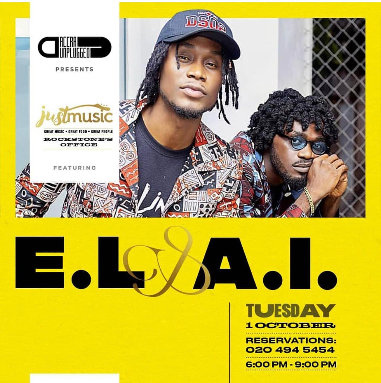 EL AND A.I HOSTS JUST MUSIC AT ROCKSTONE'S OFFICE