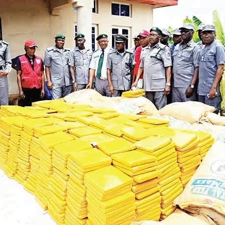$30k Worth Of Indian Hemp From Ghana Siezed By Nigerian Customs