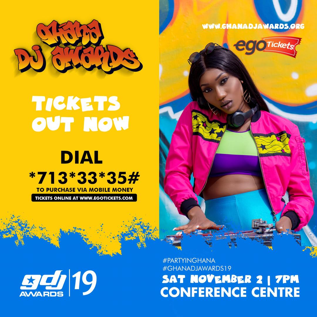 2019 Ghana DJ Awards tickets in hot Demand