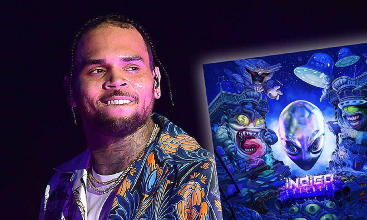 Davido, Kiddominant featured in Chris Brown's 'Indigo Extended'