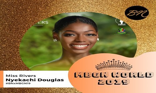 Miss Rivers emerges 'Most Beautiful Girl in Nigeria' 2019