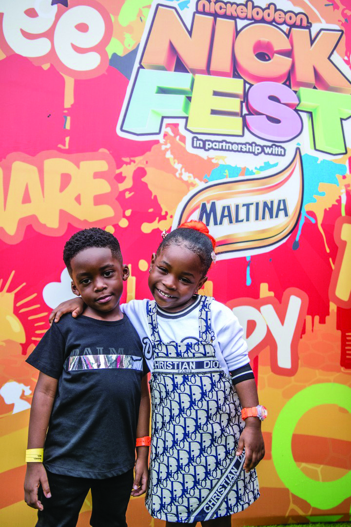 Tiwa Savage's son, Davido's daughter among over 10 thousand kids for Nickelodeon's Nickfest 2019