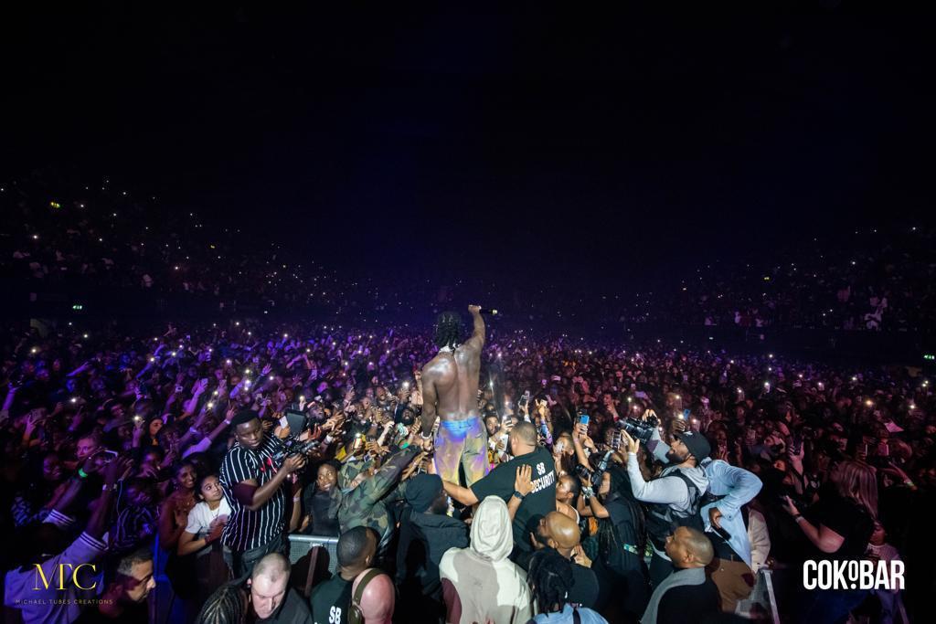 Double celebration as Burna Boy wins MTV EMA Best African Act award