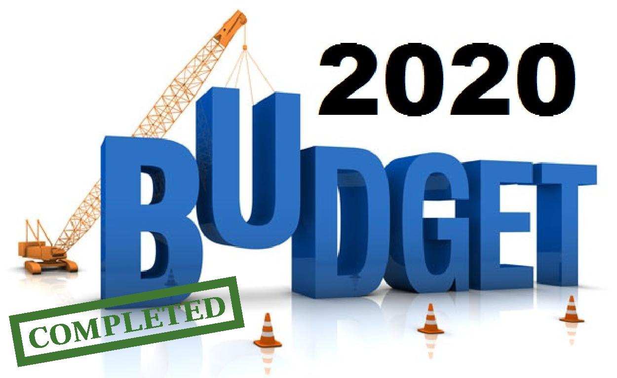Check The Supposed Critical Roads In The 2020 Budget.
