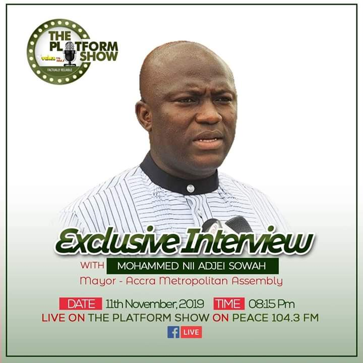 Exclusive interview with Hon. Mohammed Nii Adjei Sowah, Accra Mayor.
