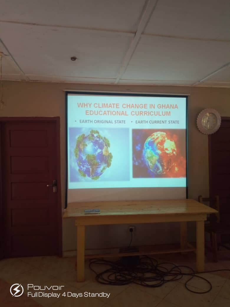 Training of Teachers on Climate Change & Green Economy.