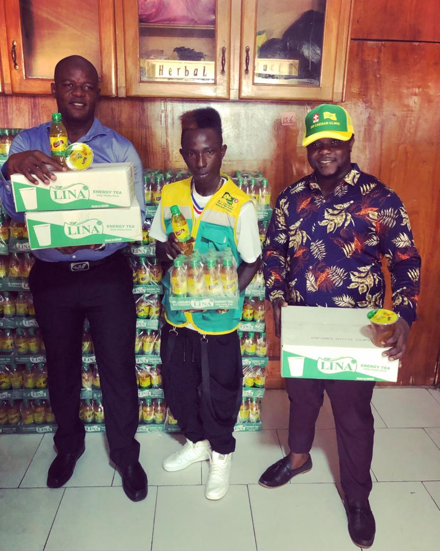 Patapaa inks new deal with Dr. Caesar Energy drink.