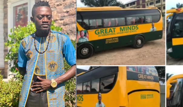 Lilwin sends Electoral Comissioners to his school…