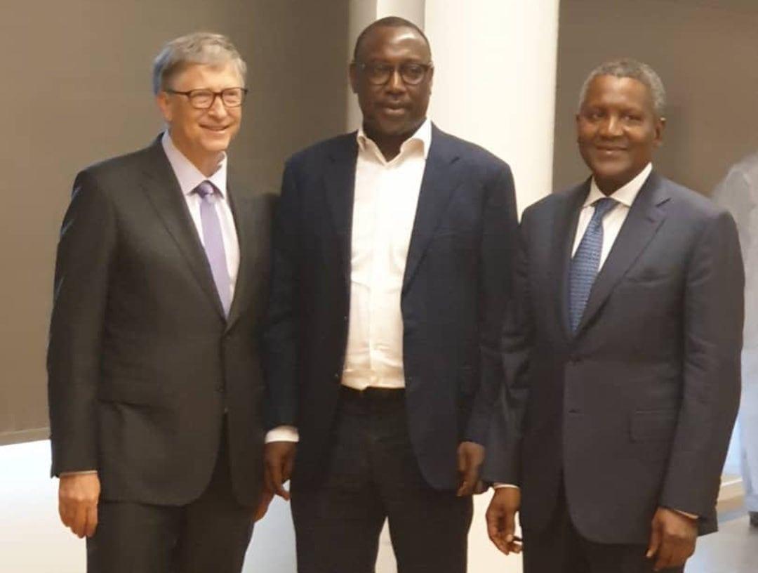 When Abubakar Sanni Bello met Bill Gates, Aliko Dangote