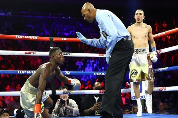Richard Commey Whipped Mercilessly, Loses IBF Title.