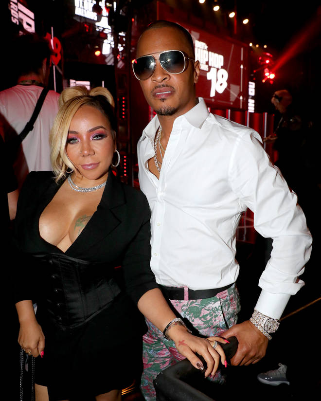 Year Of Return: American Rapper T.I arrives in Ghana with the Wife