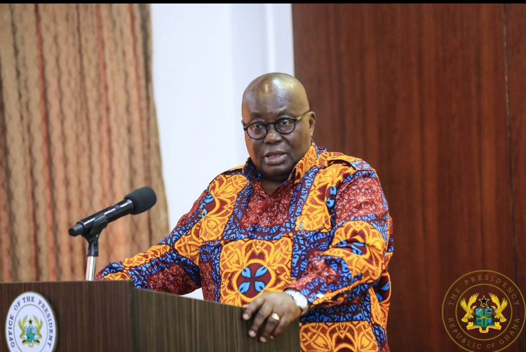 GHANAIANS DESCEND ON AKUFO ADDO FOR DENYING HIS FAMILY AND FRIENDS' GOVERNMENT.