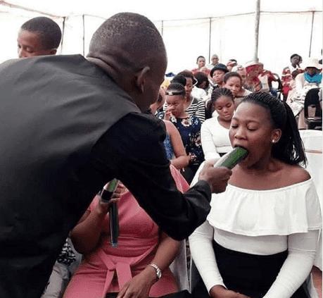 Popular Pastor Schools Female Church Members On Oral Sex !