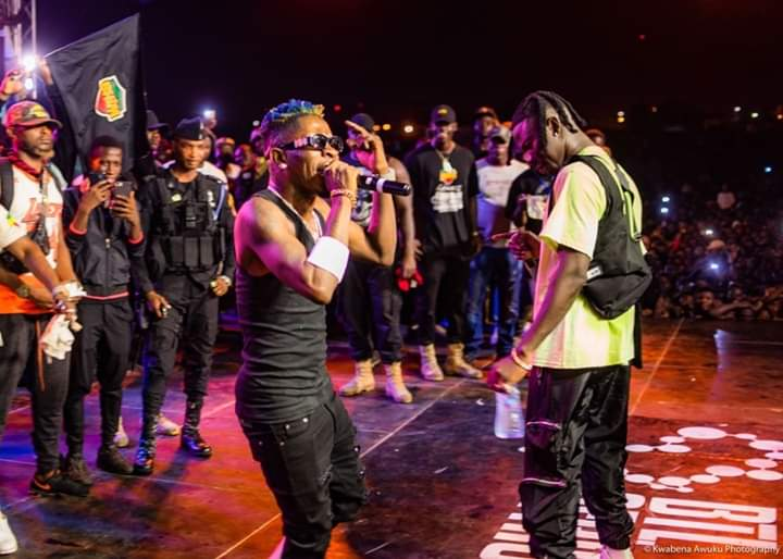 Shatta Wale And Stonebwoy Smashed Ashaiman To The World Concert…