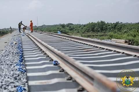 """Tema-Mpakadan railway line to be completed in August"" – Hon. Joe Ghartey"