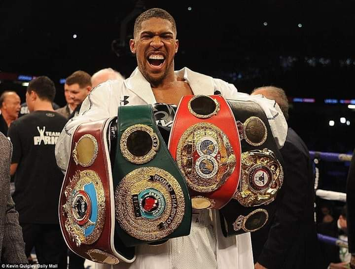 Anthony Joshua (AJ) Reclaims All His Titles