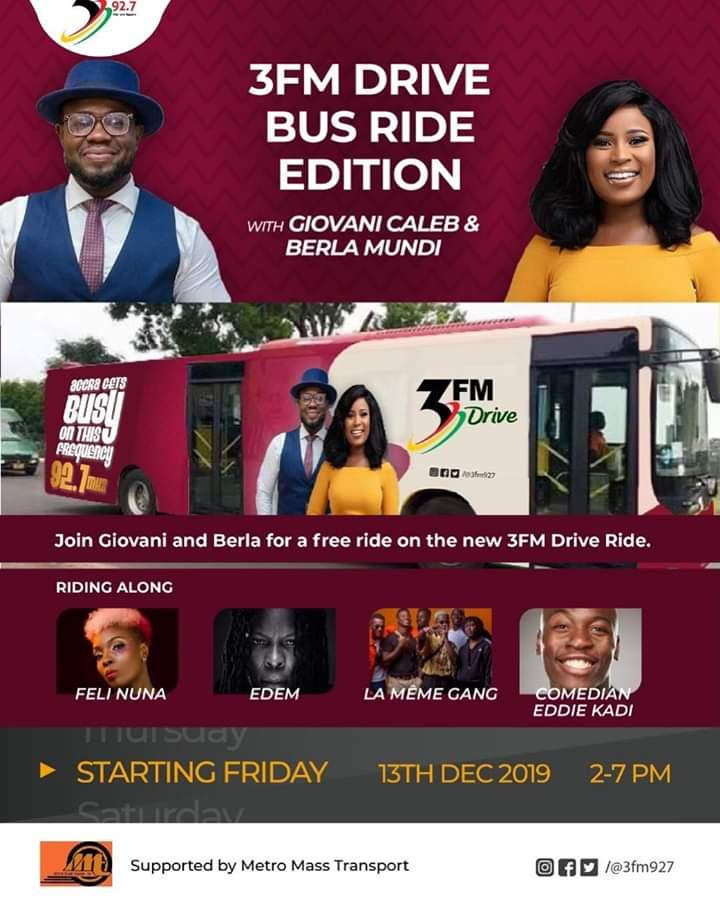 3FM  introduces new programme in collaboration with MMT.