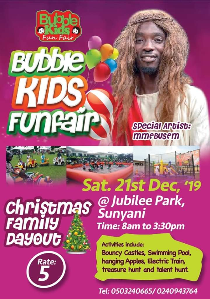 Ghana Jesus To Bless Up Christmas Family Dayout In Sunyani.