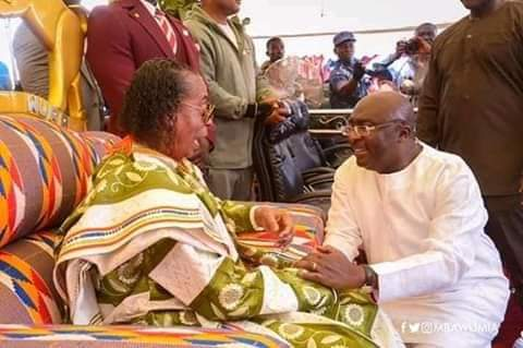 H.E. Dr Mahamudu Bawumia visits Kristo Asafo Mission of Ghana annual Technology and Agricultural Exhibition.