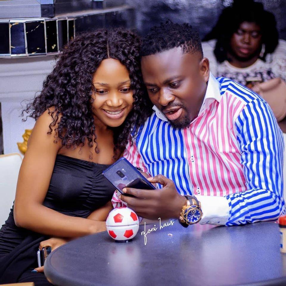 Akuapem Poloo seen doing ahohyey3, flirts with Bro Sammy.