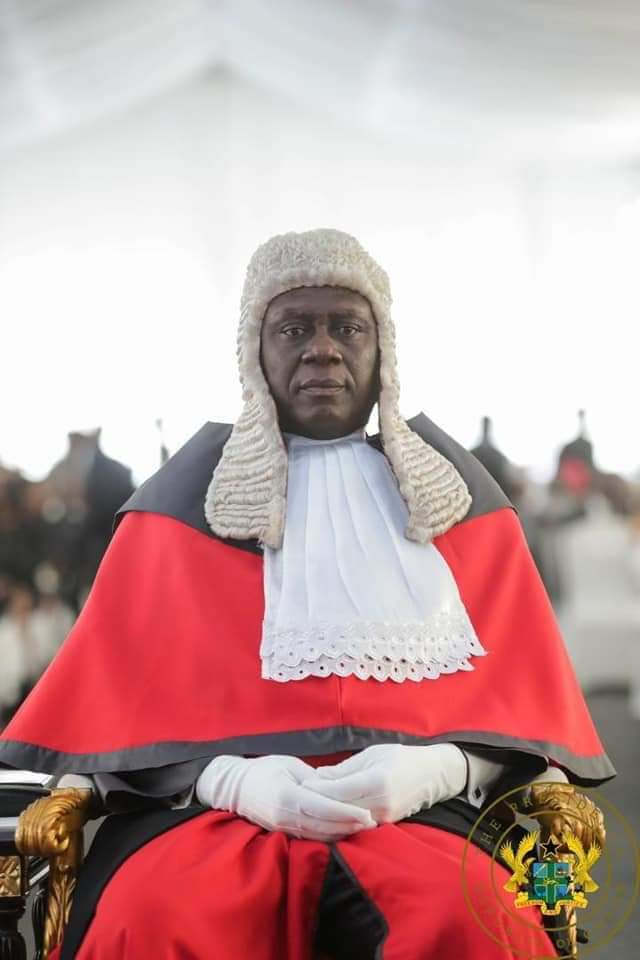 Meet Ghana's New Chief Justice…