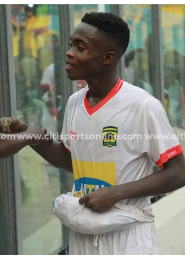 The stunning performance of Matthew Anim Cudjoe AKA Ghana's Messi.