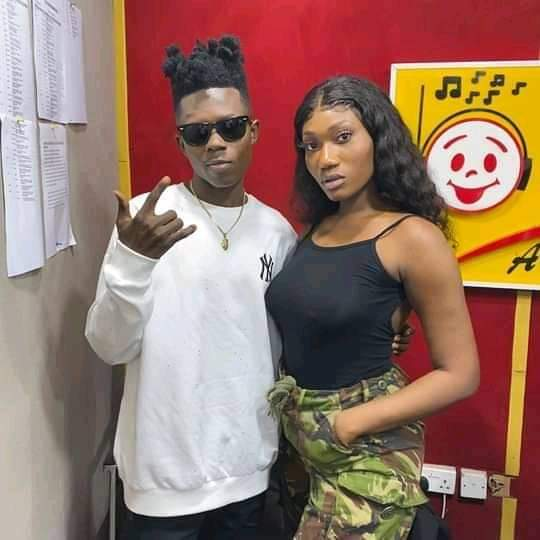 Collaboration Hint : Is Strongman ft Wendy Shay In The Offing?