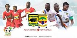 The big question ; can Hearts defeat Asante kotoko as their supporters demand ?