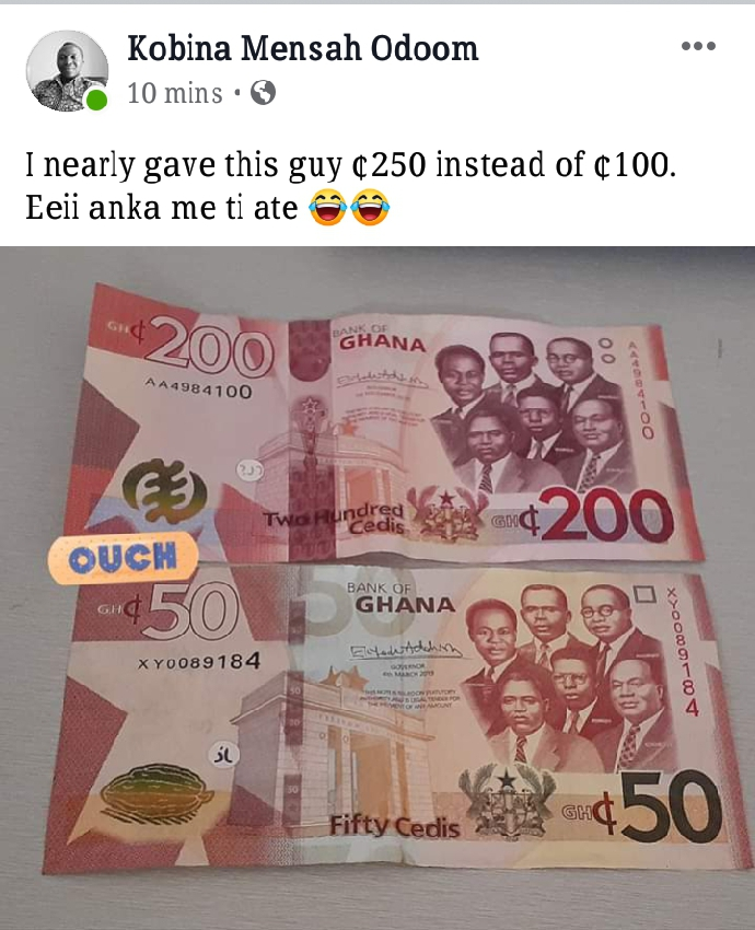 The Aftermath Of The New Gh¢200, Gh¢100 Notes In Circulation.