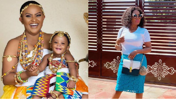 Wow, she looks so much like Maxwell's mother – Mzbel on McBrown's baby photos