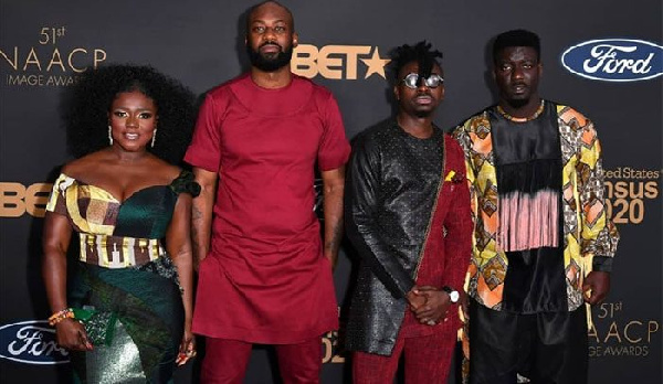 Dentaa, Bozoma, others attend NAACP Image Awards