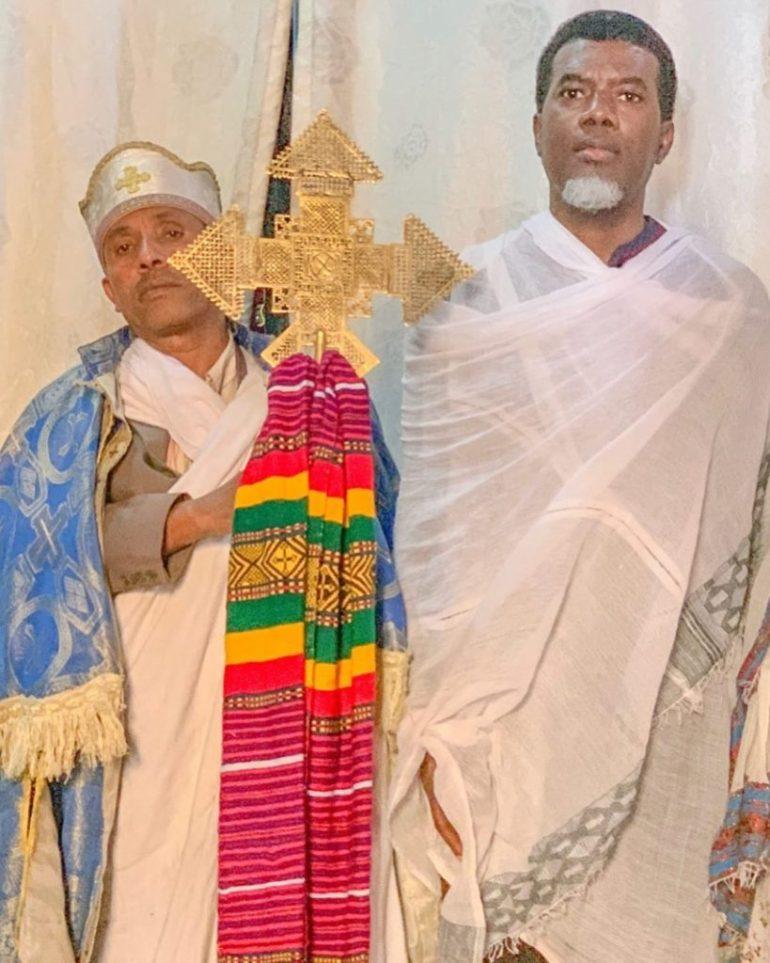 Closing your eyes whilst praying not Biblical- Pastor Reno Omokri.