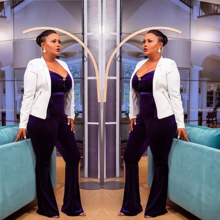 Nana Ama McBrown shakes off unnecessary critics…